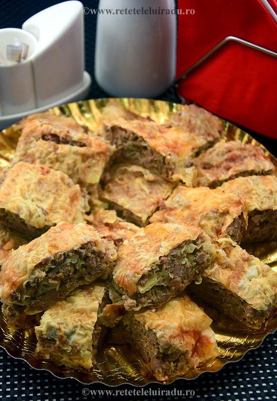 Minced pork filo pie, seasoned Thai style (red Thai curry paste, kaffir lime leaves, tamarin paste, lemongrass, palm sugar, shallots, garlic, galangal, coconut cream, fish sauce)
