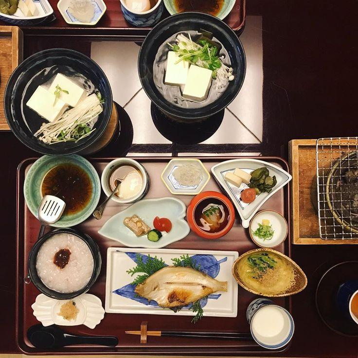 #breakfast #onsen#ryokan#kinosaki#japan#breakfast#…