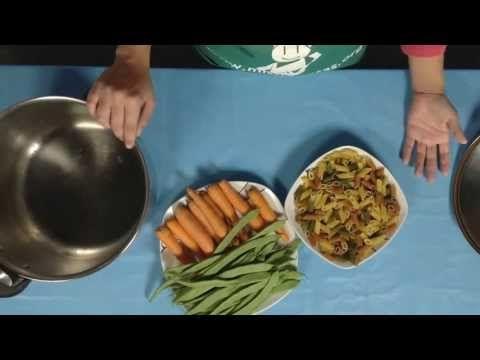 Cantidad de agua y tiempos de cocción para cocinar en olla a presión