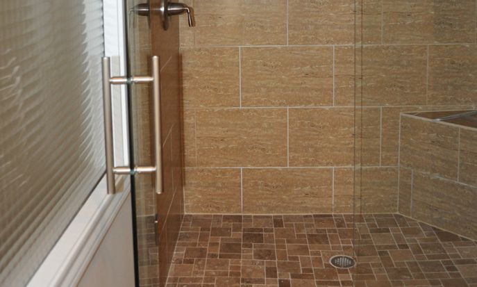 12x24 wall tile shower google search master bathroom for Bathroom 12x24 tile