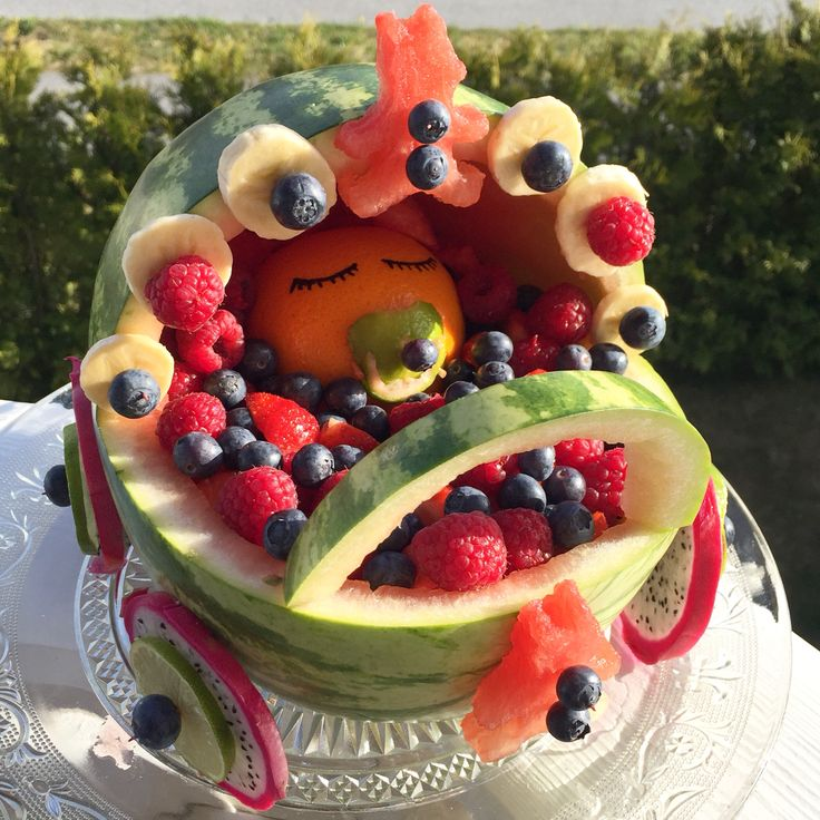 Fruitbasket, babyshower