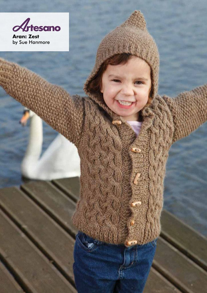 Zest Cardigan In Artesano Aran Free Knitting Ideas Pinterest