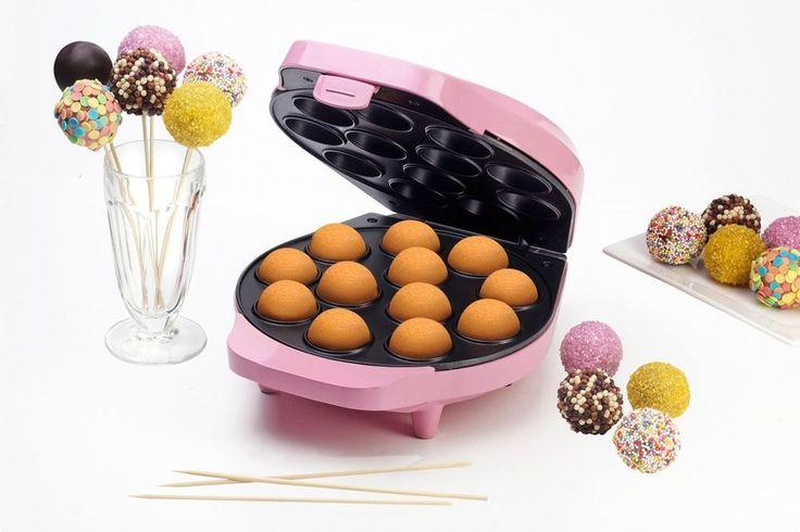 Bestron DCPM12 Cake-Pop Maker SWEET DREAMS 700 W Popcake Maker für 12 Pop-Cakes