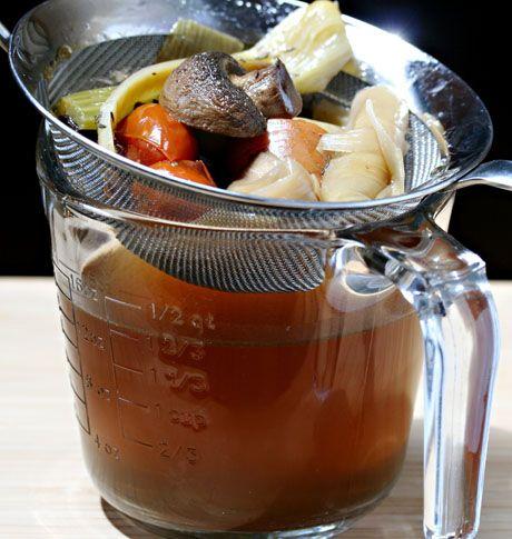 Soup Chick's soup stock recipes