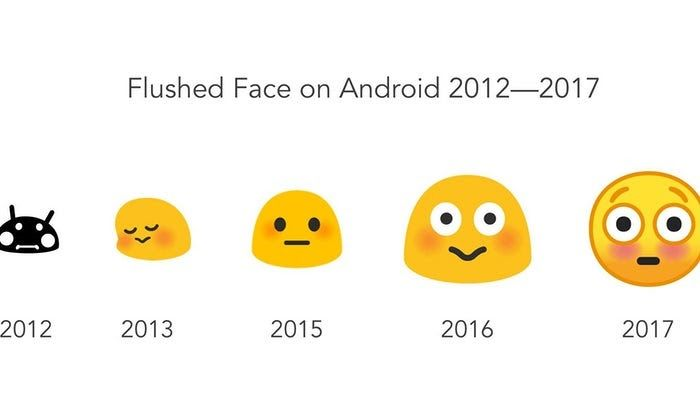 #Android's emoji blobs are being killed  The evolution of the flushed face emoji over five years of Android. Composite: Emojipedia/Google  Android's emoji blobs are being killed  The best emojis on the market are no more: Googles weird blobs are being retired in favour of more conventional circular yellow faces.  First introduced in 2013 with Android 4.4 the blobs have been a divisive feature of the companys operating system. Some love them for their unique spin on otherwise…