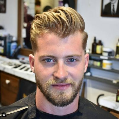 Bearded guy gets his best haircut ever, and this is why he's definitely returning! | Brad Pitt | barber | hairstyle | NTD Inspired