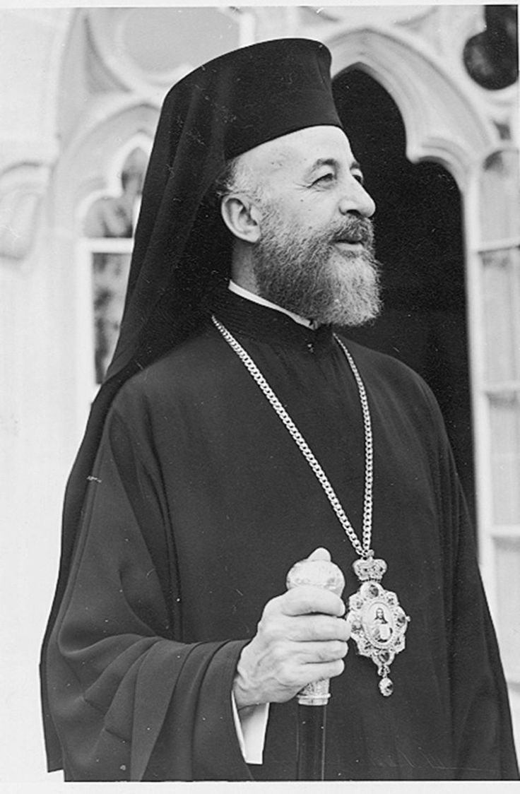 Makarios III was the archbishop and primate of the autocephalous Cypriot Orthodox Church and the first President of the Republic of Cyprus.