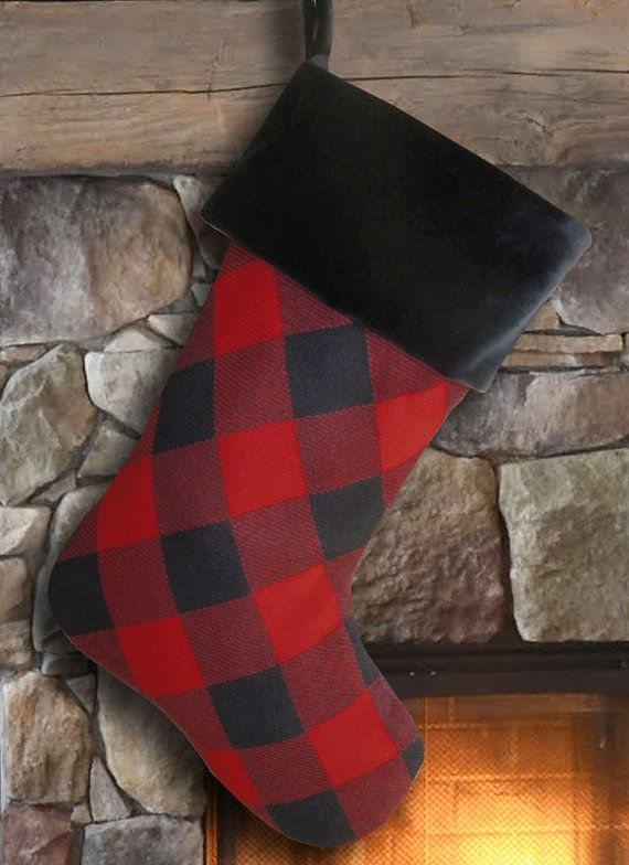 fur christmas stocking fur stockings faux fur christmas stocking faux fur stocking plaid christmas stocking