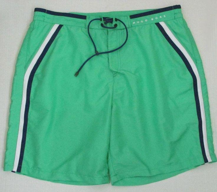 hugo boss green swim shorts ralph lauren floral purse