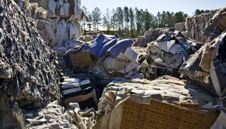 What a waste - Every day valuable materials are wasted in landfill sites.<br /> , ReEntry