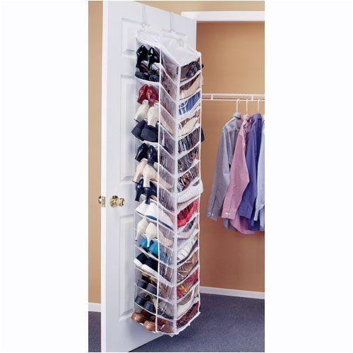 door%20shoe%20rack 6 Shoe Organizer Closet Storage Solutions Under $50