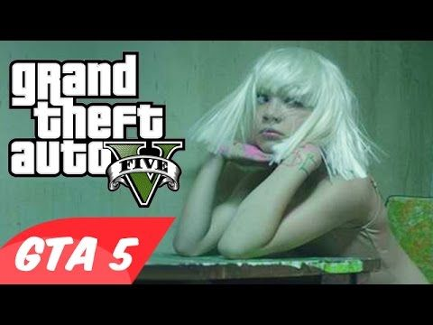 Cool Gta 5 Sia Chandelier Music Video Funny Moments