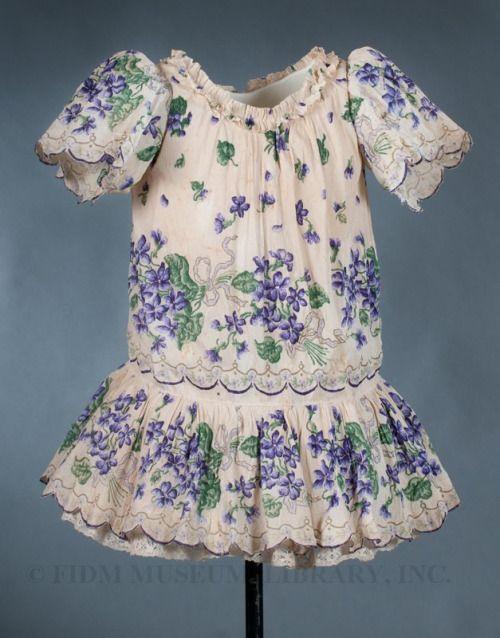 Costume.... Girl's Dress (circa.1897) The.FIDM Museum
