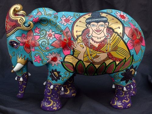 Book Kob-One product design Bollywood Elephant Art In The City