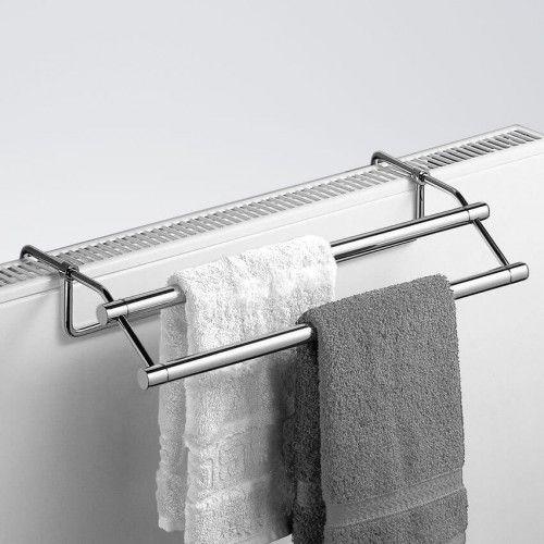 Handtuchhalter zum einhängen von Giese mit verstellbarer Tiefe für Ihre Heizung.