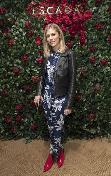 Nicki shields attends New Flagship Store Opening of Luxury Fashion Brand ESCADA, on Sloane Street on November 15, 2017 in London, England.