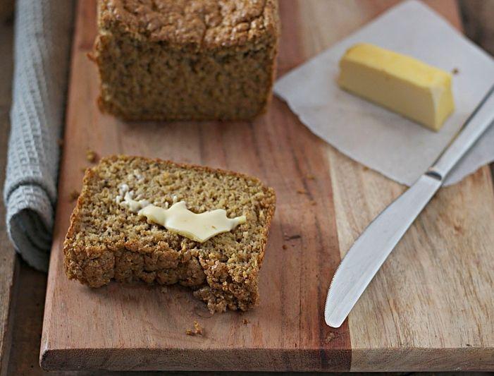Pan de plátano macho con tan sólo dos ingredientes #paleo Plantain bread with only two ingredients!