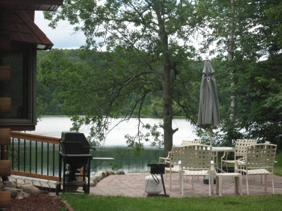 Walker Minnesota Vacation Rentals   Log Cabin Home On Scenic May Lake MN