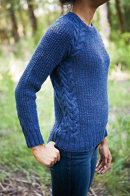 Ravelry: Ballard Pullover pattern by Allison Griffith