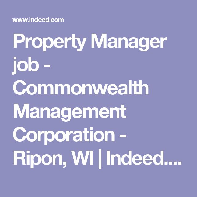 Oltre 25 fantastiche idee su Ripon wi su Pinterest Facciate di - property manager job description