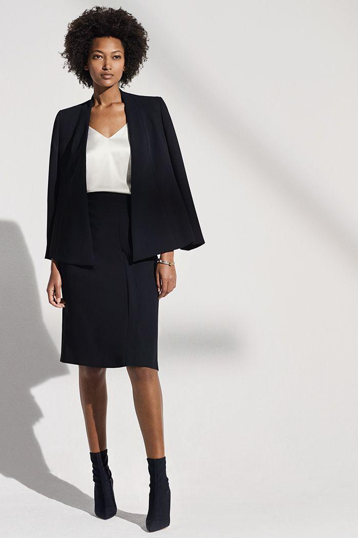 92619bb628a Le Marais Wrap Jacket Black