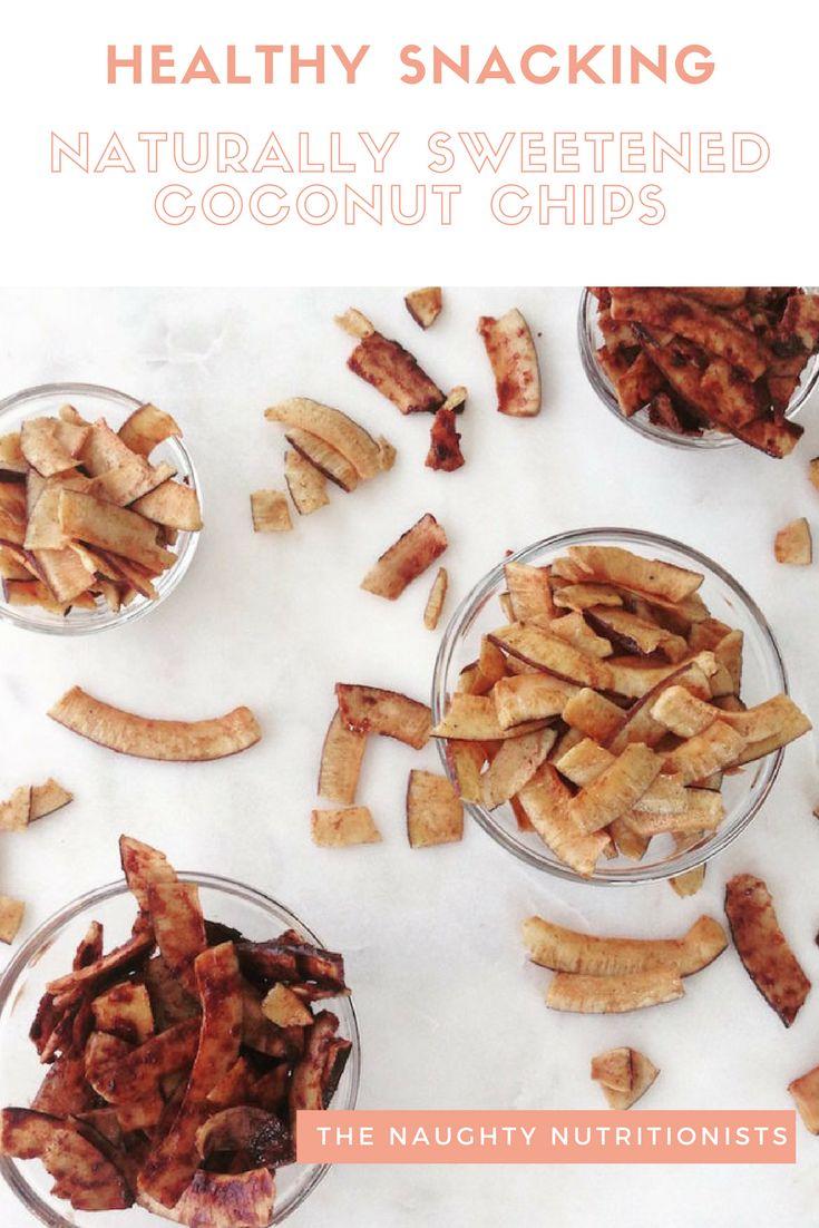 Looking for a healthy and simple sweet treat? Try these naturally sweetened Maple and Chocolate Coconut Chips. #coconut #healthysnack