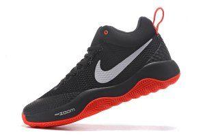 858ca8d4e827 Mens Nike HyperRev 2017 Black White Red Basketball Shoes