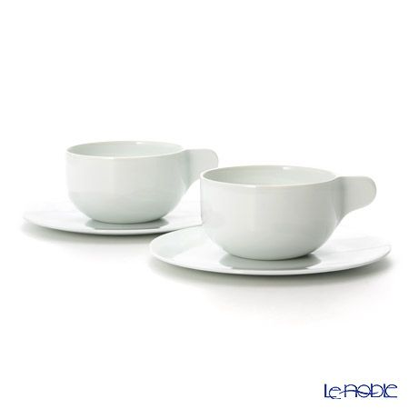 Le noble - Georg Jensen Tea with Georg Tea cup with saucer, large ...