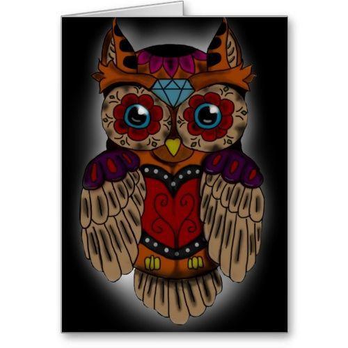Animal sugar skull tattoo - photo#33