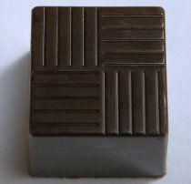 www.thechocolatemoldfactory.com   Chocolate Mold Cube 20x20x20mm, 54 Cavities