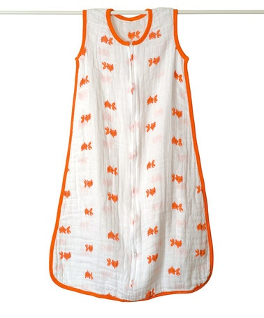 Orange Goldfish Single-Layer Sleep Bag by Aden and Anais on #zulily