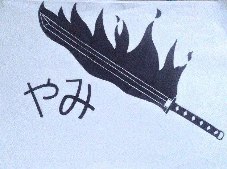 my role-play sword, Yami (darkness)