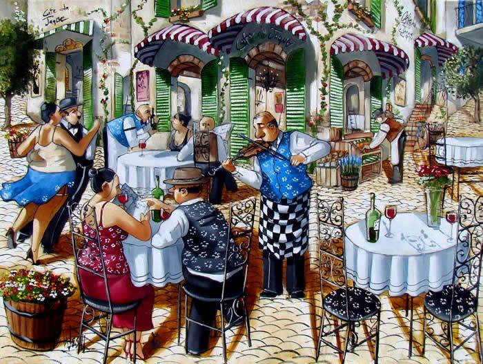 Cafe du Jaque ~ Ronald West