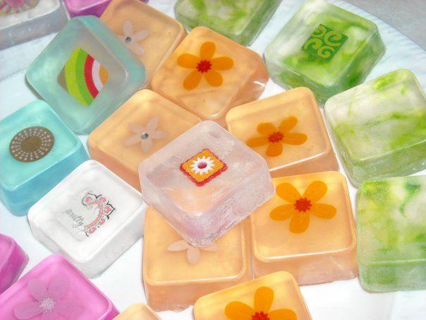 Embellished Glycerin Soaps