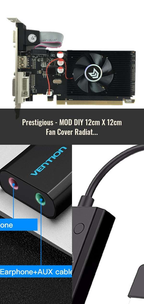 Mod Diy 12cm X 12cm Fan Cover Radiator Decorative Cover Water Cooling Accessories Liquid Cooler System Use For 12cm Computer Components Graphic Card Sound Card