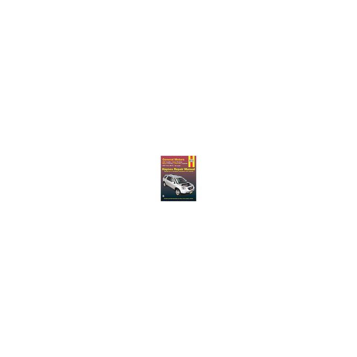 Haynes General Motors Gmc Acadia, Buick Enclave, Saturn Outlook & Chevrolet Traverse 2007 Thru 2015