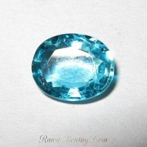 Bluish Green Oval Apatite 1.22 carat