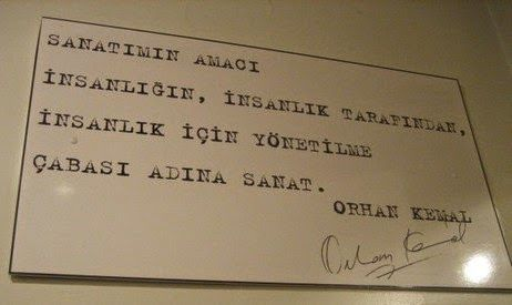 MUSICANDARTPHOTAGRAPHER: Orhan Kemal Müzesi
