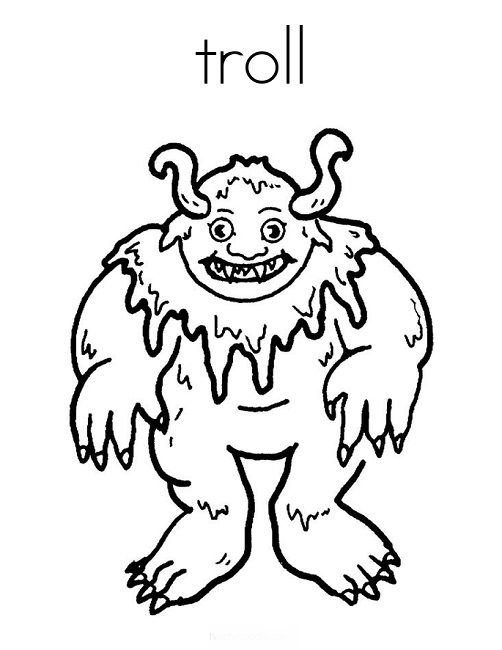 Frozen Coloring Pages Trolls : Images about disney on pinterest frozen