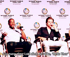 lol Anthony said that and Seb really started laughing.