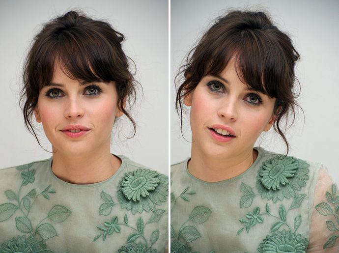 Felicity Jones.. Maybe the prettiest girl I've ever seen.