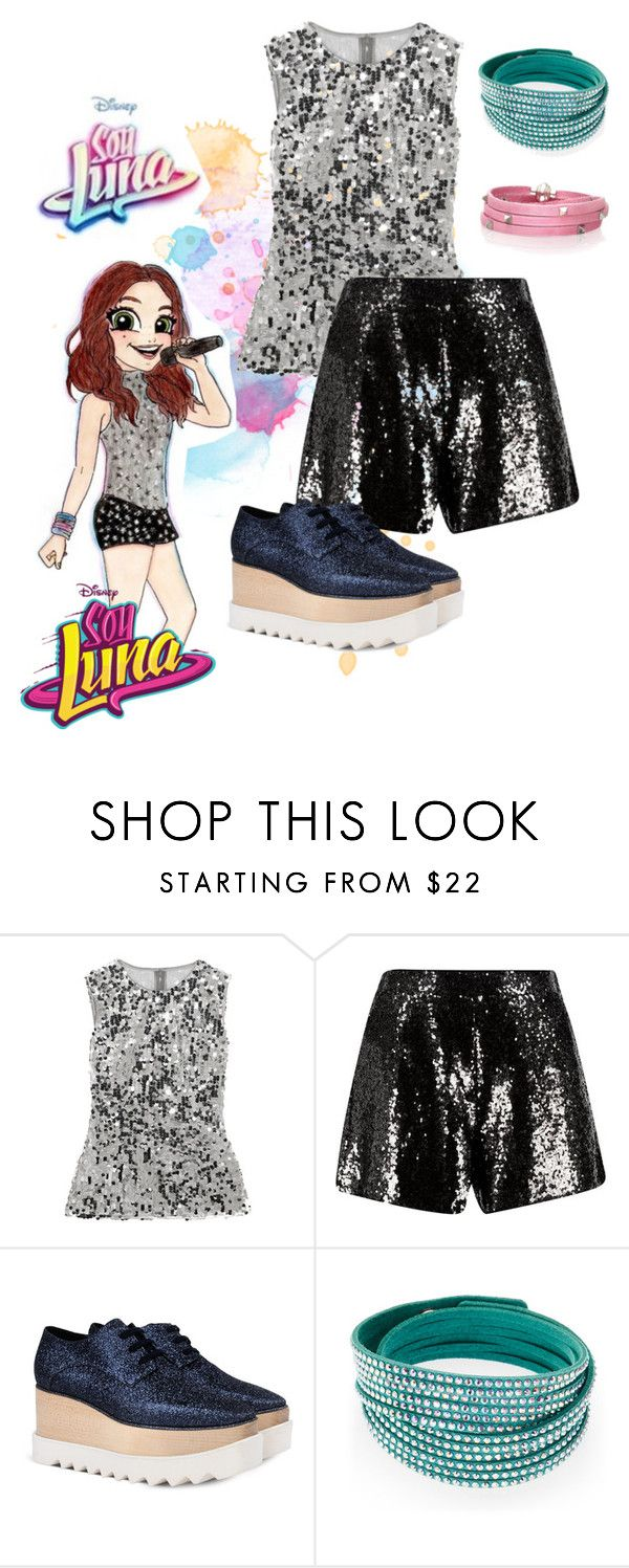 """soy luna"" by maria-cmxiv on Polyvore featuring Dolce&Gabbana, STELLA McCARTNEY, Swarovski and Sif Jakobs Jewellery"