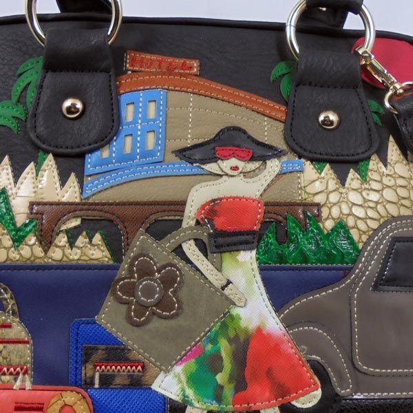 Bolso imitación piel color negro bordado. Para tu estilo mas informal, ideal con vaqueros, ya sean pantalones o falda aportando colorido a tu look https://www.lutasha.es/p3005928-bolso-negro-aplicaciones.html 📧Suscribete a nuestra newsletter para conseguir un dto. en tu 1ª compra: http://eepurl.com/cg3iQj 🎬https://www.youtube.com/edit?o=U&video_id=LCJ0GM9C5fA #handbags #fashion #bags #bag #handbag #purse #handbags#handbagshop #handbagseller #handbagsale #handbagsforsale #handbagset…