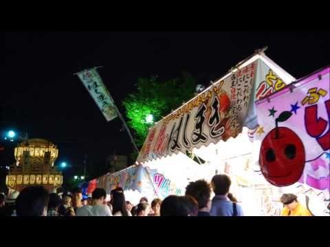大垣祭り山車巡行 2017年宵祭り 2017年