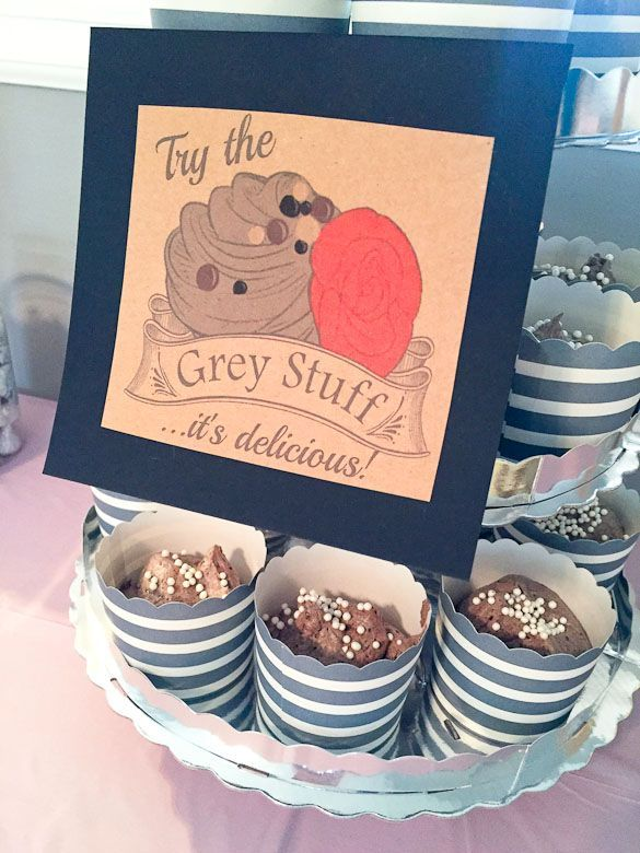 The Grey Stuff - recipe from Beauty and the Beast for your Disney princess party.