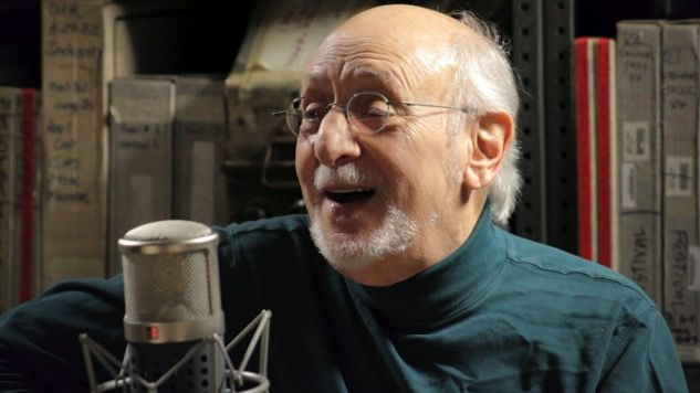 Peter Yarrow: Live at the Paste Studio - Puff the magic dragon is not about marijuana. I was happy to hear Peter's story.