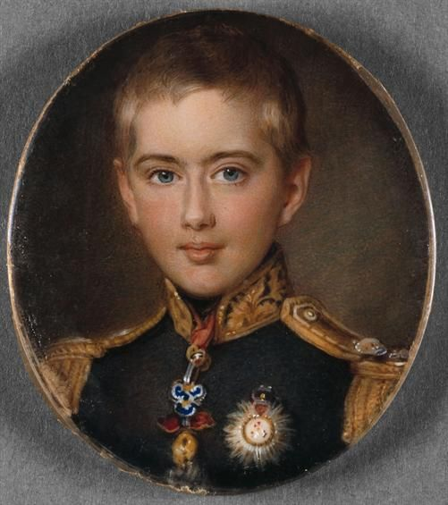 Prince Pedro de Bragança (future King Pedro V) (1837-1861), painted in 1853 by Johanes Moller - National Museum of Ancient Art