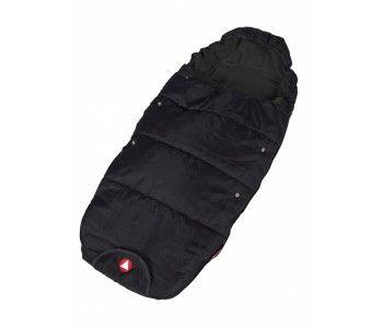 Met deze Topmark Voetenzak Olly Zwart krijgt je baby het niet koud. Shop de voetenzak op www.babyline.nl. #baby #must #haves