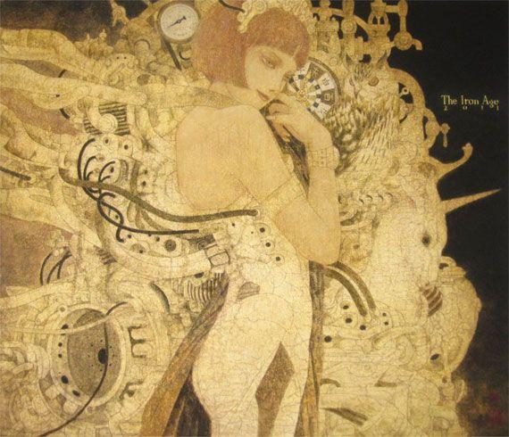日本画家・笹本正明が描く耽美で妖艶な幻想的世界   ARTIST DATABASE