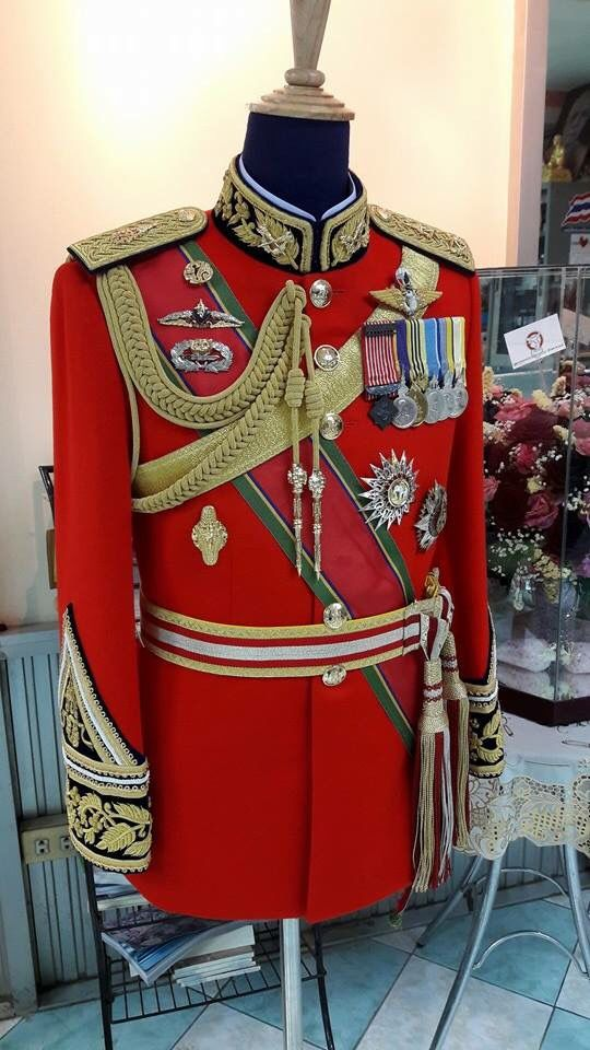 Royal Thai Army Military Uniform